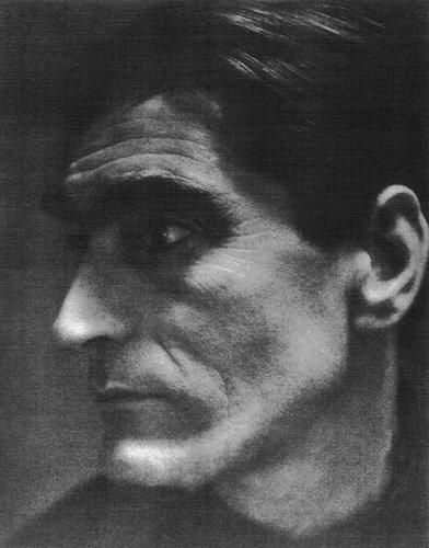 Picture in black and white Ernst van Leyden (Profile)
