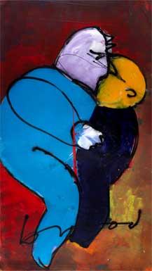 Love painting by Herman Brood