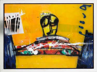 Grand Prix painting by Herman Brood