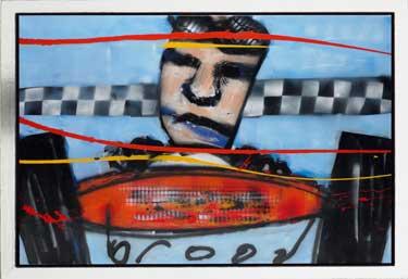 Grand Prix II painting by Herman Brood