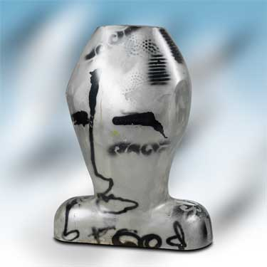 The Face sculpture by Herman Brood