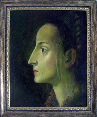 Saura II schilderen door Alfons Saura