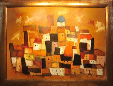 Altea (2004) painting by Horacio Gonzalez