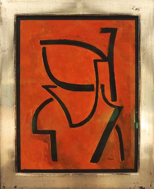 Kelder I painting by Toon Kelder