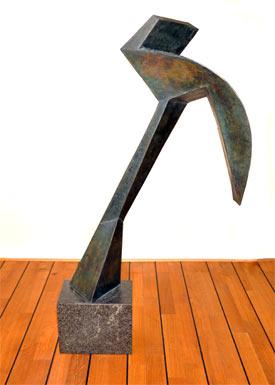 Kelder II sculpture by Toon Kelder