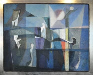 Leyden 000 painting by Ernst Van Leyden