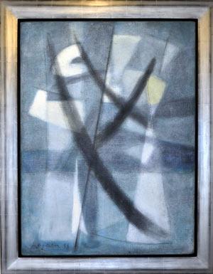 Leyden 001 (1958) painting by Ernst Van Leyden