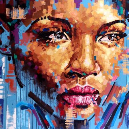 Inspirado por Jimmy Law painting by Maikel Bello