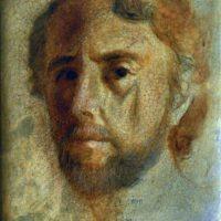 Painting of Alfons Saura himslef