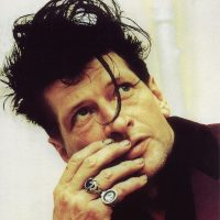 Picture of Herman Brood thinking