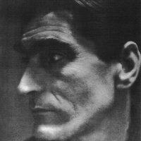 Foto in zwart-wit Ernst van Leyden (Profiel)