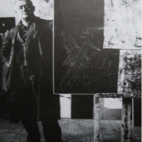 Foto in zwart-wit van Willy Boers
